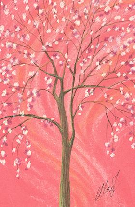 """December 20, 2010 sketch - pastel pencil, 4"""" x 6"""""""