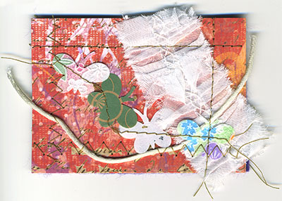 ATC from Donnalynn Chase ~ collage