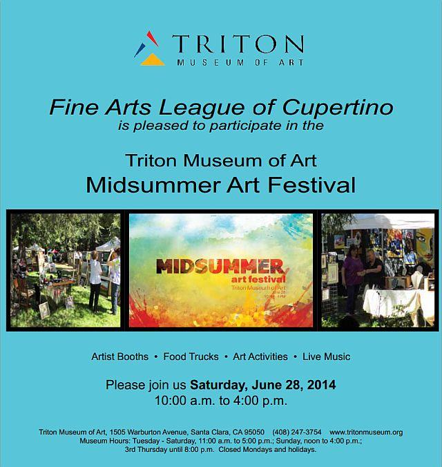 MidSummer Art Festival poster