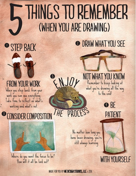 5 things to remember (when you are drawing)